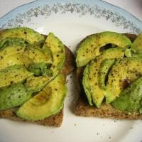 Avocado Toast with Balsamic Vinegar