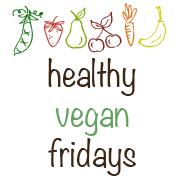 healthy vegan friday button