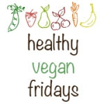 healthy vegan friday button