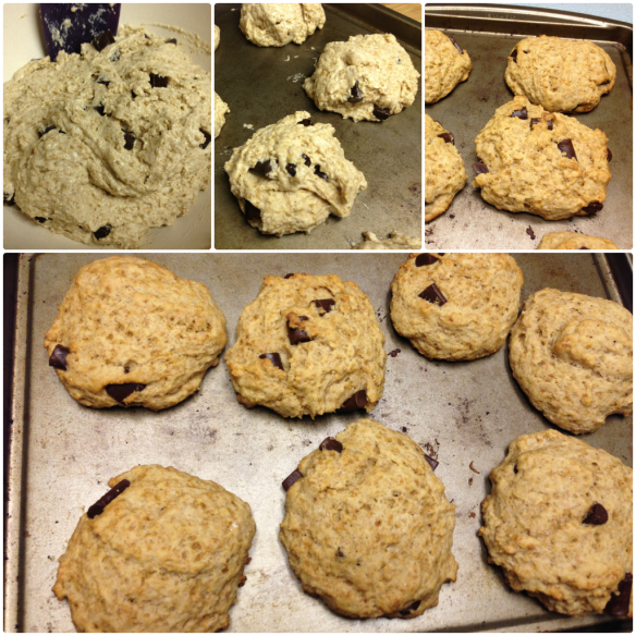 Collage, Ginger Chocolate Scones