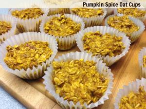 Pumpkin Spice Oat Cups